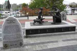 The Homecoming Memorial, Victoria Harbour