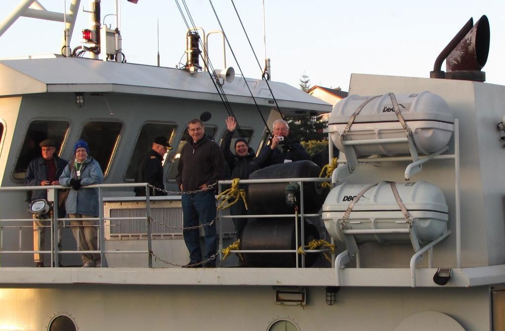 More Folks aboard HMCS Renard