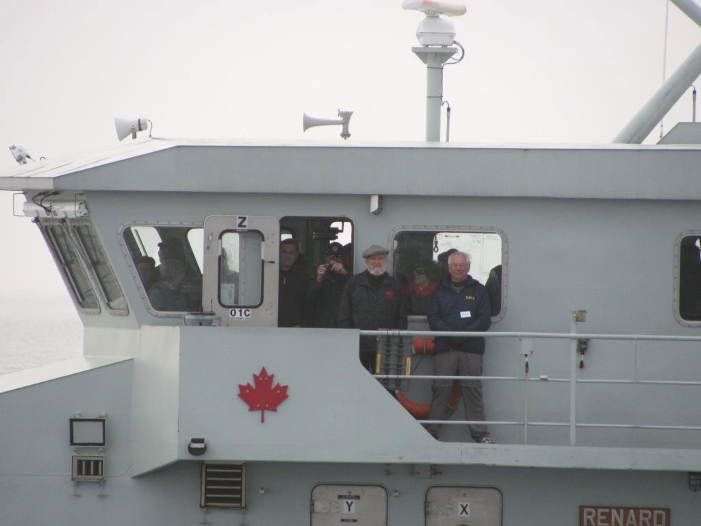 Aboard HMCS Renard