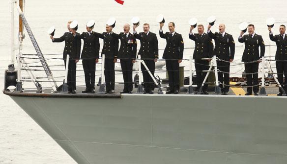 Cheering Ship