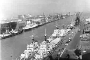 Bravo Cruise, 1962, River Liffy, Dublin, Ireland