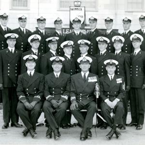 Haida Division 1st Years UNTD Leadership School Cornwallis 1964.