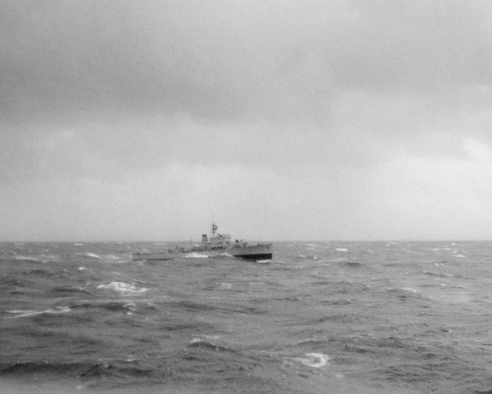 Ship of 9th Canadian Escort Squadron, June 8, 1964.